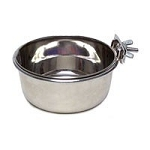 Stainless Coop Cup with clamp 10 oz